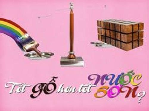 """185 - Chứng minh câu tục ngữ """"Tốt gỗ hơn tốt nước sơn"""""""