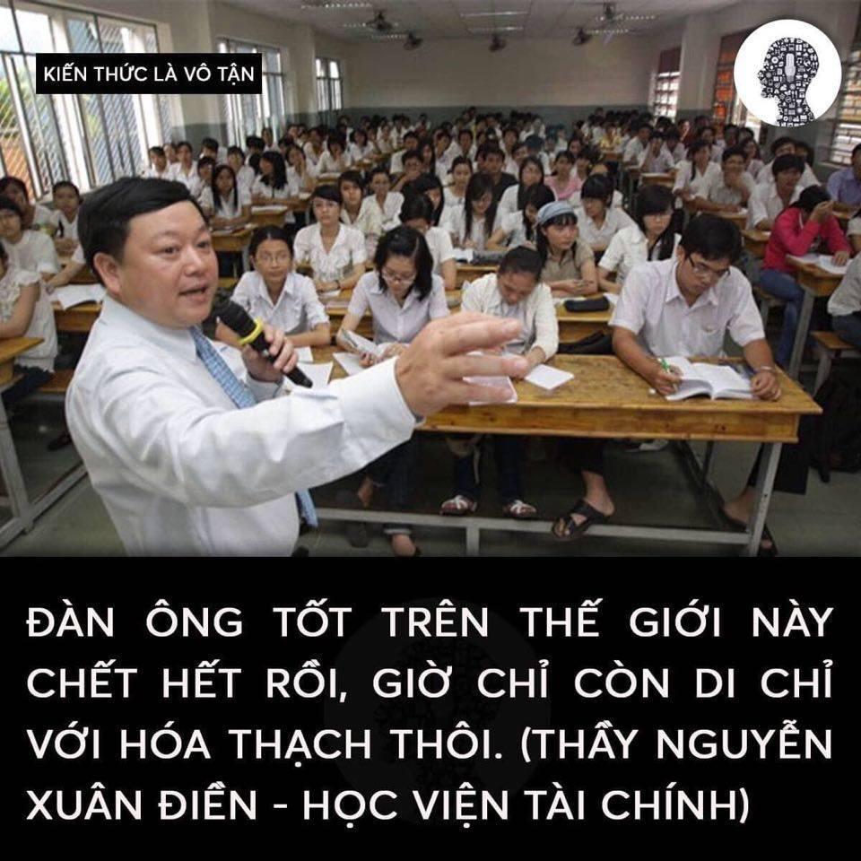 """22 cau noi ba dao cua giang vien dai hoc - 22 câu nói """"bá đạo"""" của giảng viên đại học"""